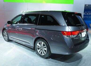 2014 Honda Odyssey Preview: New York International Auto Show