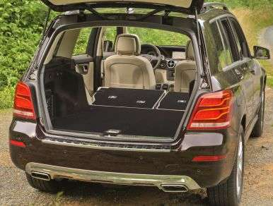 2013 Mercedes Benz GLK350 4MATIC Review: Comfort And Cargo