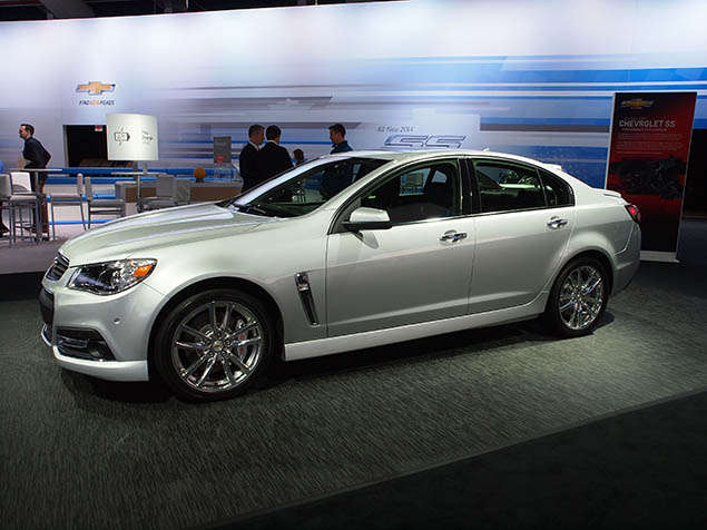 Pictures: 2014 Chevrolet SS at the New York Auto Show