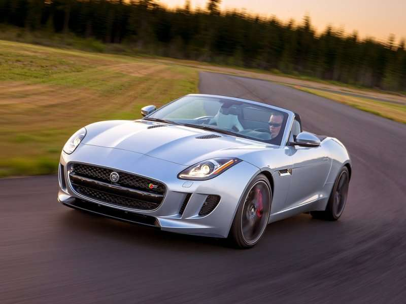 10) Jaguar F Type