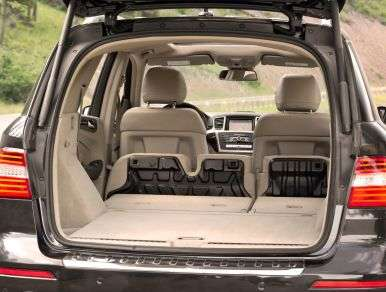 2013 Mercedes Benz ML350 BlueTEC Review: Comfort And Cargo