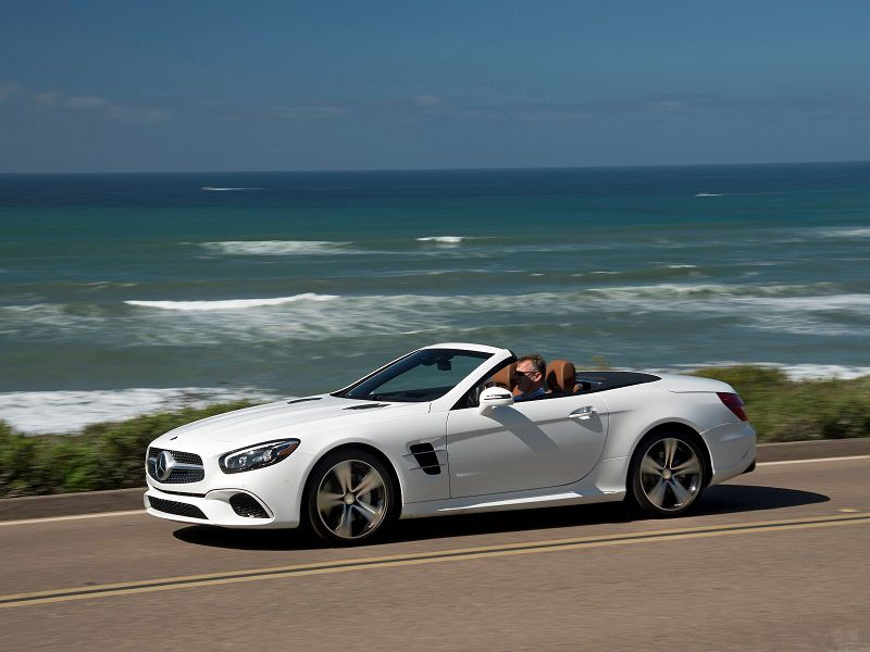 2018 Mercedes Benz Sl Roadster