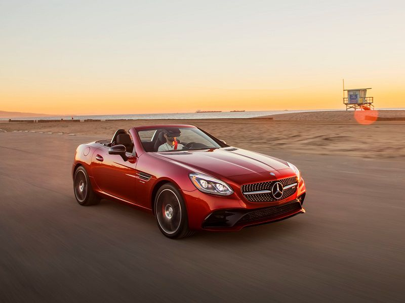 2018 Mercedes Benz Slc Roadster