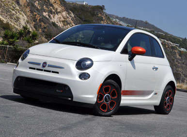 2013 fiat 500e first drive review. Black Bedroom Furniture Sets. Home Design Ideas