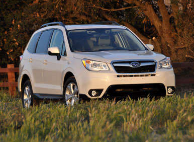 2014 subaru forester road test and review. Black Bedroom Furniture Sets. Home Design Ideas