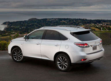 2013 lexus rx 350 road test and review. Black Bedroom Furniture Sets. Home Design Ideas