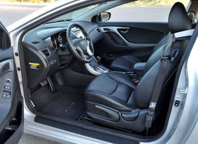 2013 Hyundai Elantra Coupe Road Test And Review: Comfort And Cargo