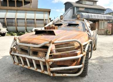 2013 Dodge Charger Prepares for Alien Invasion