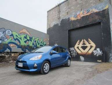 Competitive Comparison - 2013 Toyota Prius c vs. 2013 Toyota Yaris Hatchback