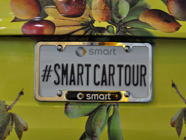 2013 Smart ForTwo Electric Drive Goes on American Tour