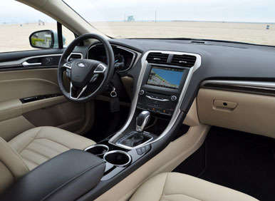 2013 Ford Fusion Energi First Drive: Comfort And Convenience