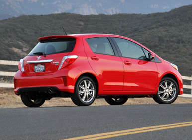 2013 Toyota Yaris Road Test And Review: Design