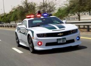 2013 Chevrolet Camaro SS Now on Duty in Dubai