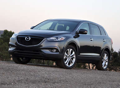 2013 mazda cx 9 road test and review. Black Bedroom Furniture Sets. Home Design Ideas