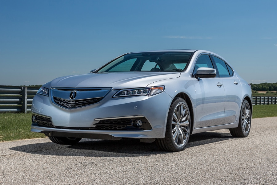 2016-Acura-TLX-front-34-silver