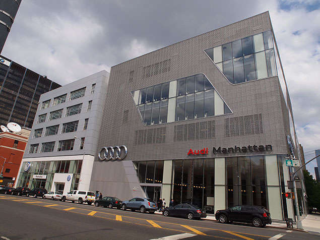 Urban Planning Audi And Volkswagen Star In New York
