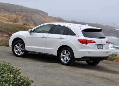 2013 acura rdx road test and review. Black Bedroom Furniture Sets. Home Design Ideas