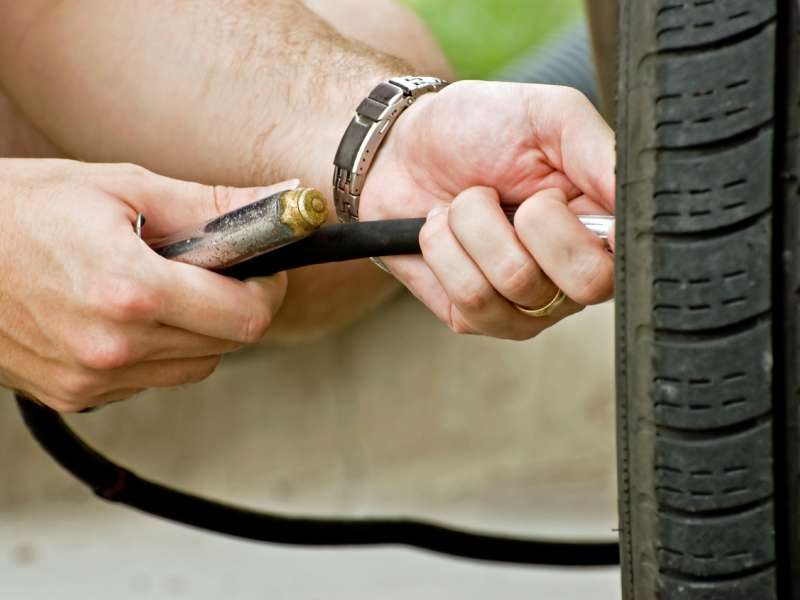 How To Check Tire Pressure And Inflate Tires