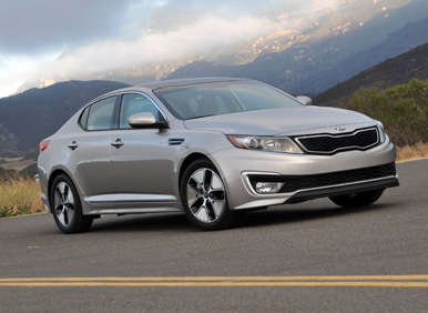 2013 Kia Optima Hybrid Quick Spin Review