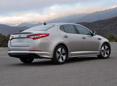 2013 kia optima hybrid quick spin review. Black Bedroom Furniture Sets. Home Design Ideas