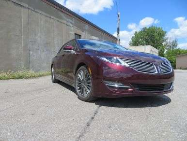 2013 Lincoln MKZ Luxury Hybrid Sedan Road Test and Review