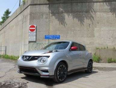 2013 Nissan Juke NISMO Road Test and Review