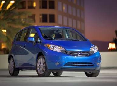 2014 Nissan Versa Note Now on Sale for $13,990