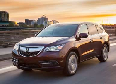 Best Crossovers With 3rd Row Seating 2017 Acura Mdx