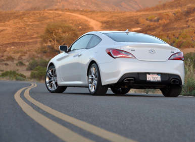 2017 Hyundai Genesis Coupe Sports Quick Spin Review About Our Test Car