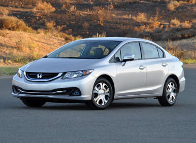 2013 Honda Civic Hybrid Quick Spin Review: Driving Impressions