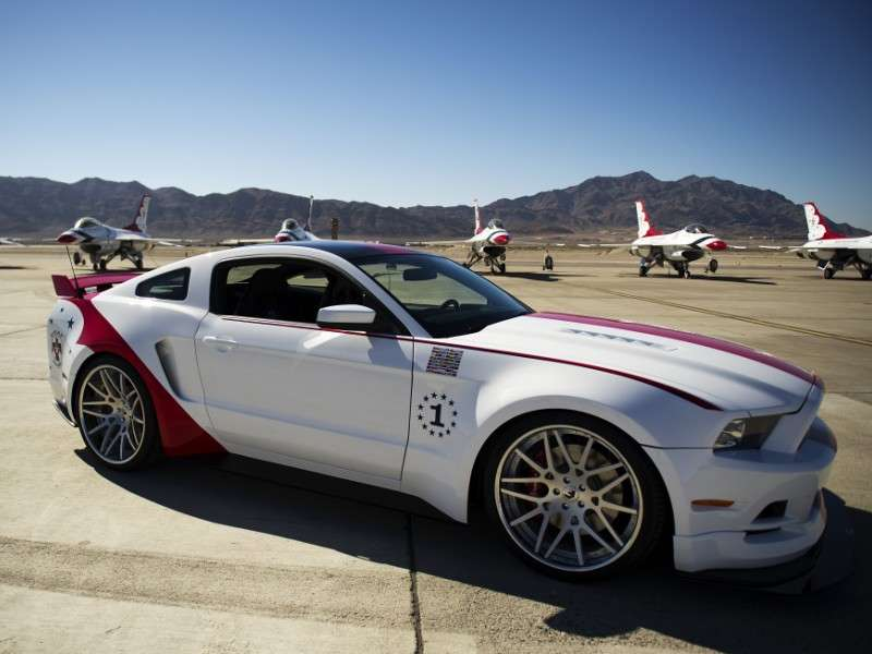 Ford Builds A One Of A Kind Mustang For The Air Force Thunderbirds