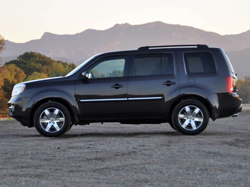 2013 honda pilot road test and review. Black Bedroom Furniture Sets. Home Design Ideas