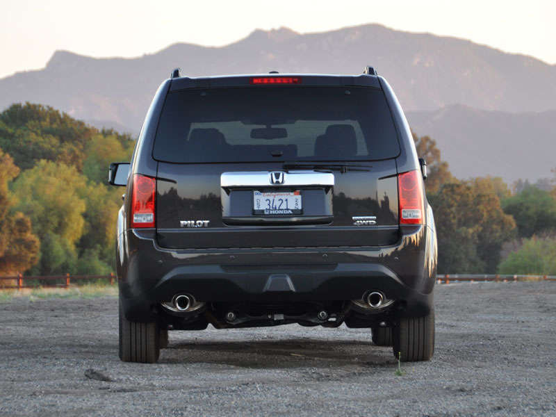 2007 honda pilot off road reviews
