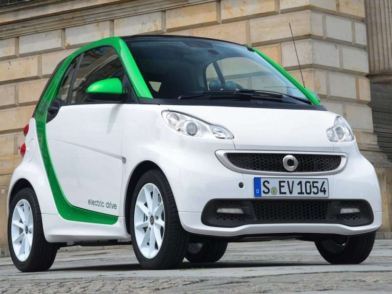 List Of Electric Cars For 2017 Smart Drive