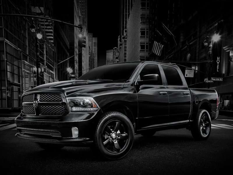 2013 Ram 1500: Now Boarding for the Black Express