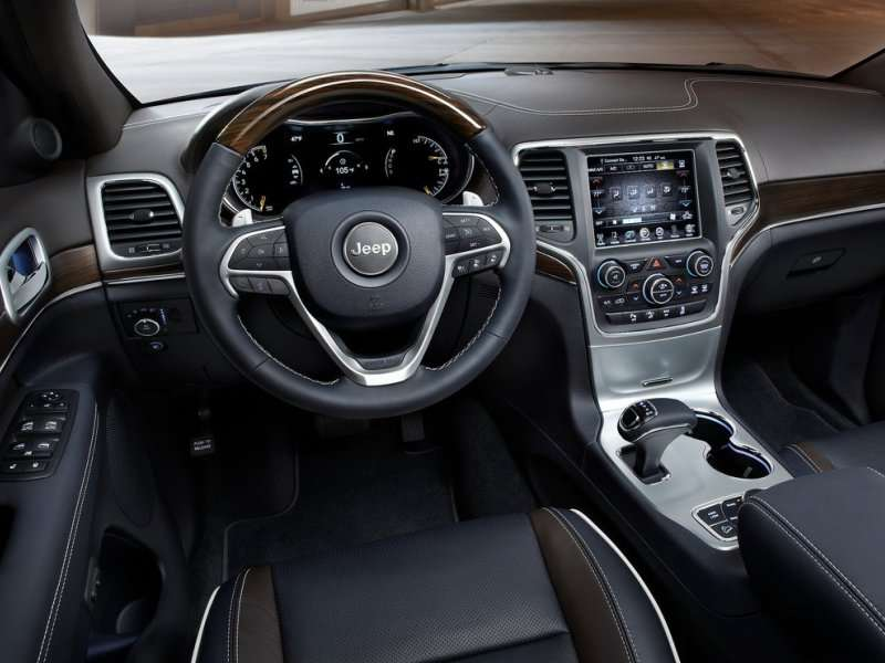 2014 Jeep Grand Cherokee Road Test U0026 Review: Features U0026 Controls