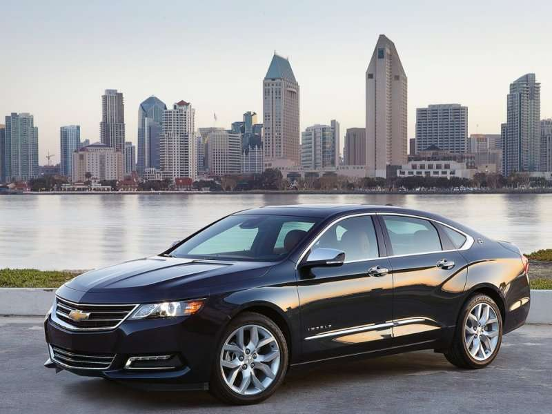 The 2014 Chevrolet Impala Offers A Pair Of Engine Options
