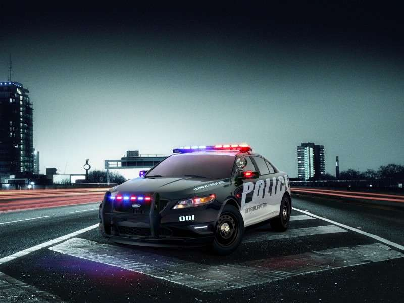 Ford Police Interceptor Models Have Driver