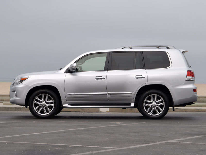 2013 Lexus LX 570 Luxury SUV Quick Spin Review: Styling And Design