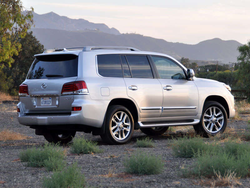 2013 Lexus LX 570 Luxury SUV Quick Spin Review: About Our Test Car