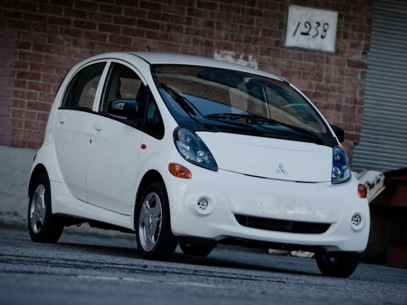 Electric Cars 03 2017 Mitsubishi I Miev
