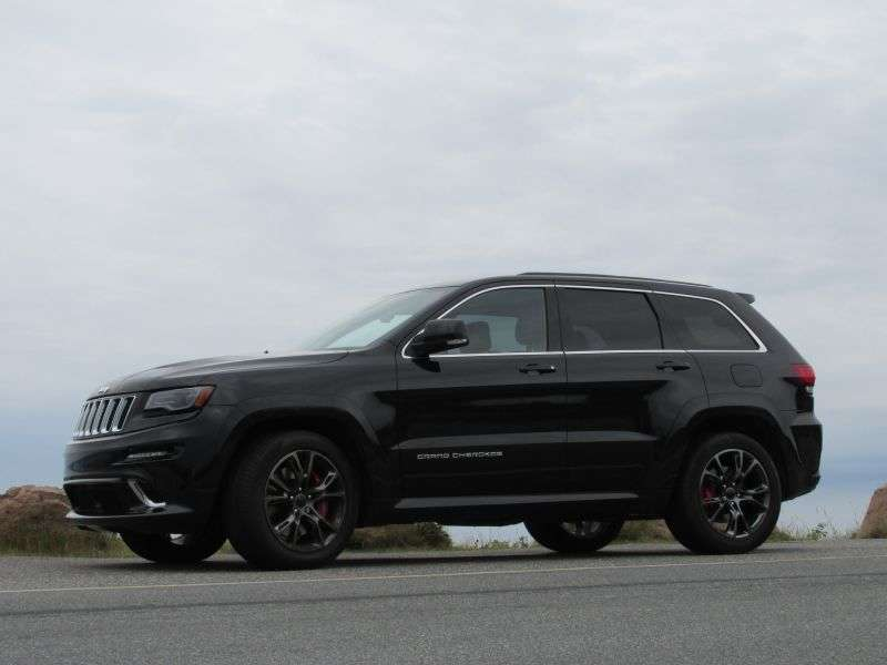 2014 Jeep Grand Cherokee SRT Review: Design