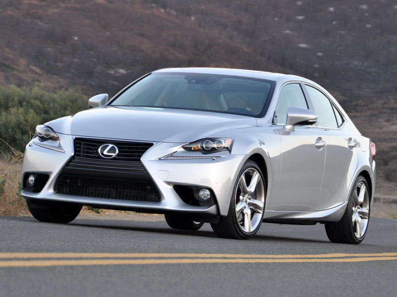 2014 Lexus IS 350 Luxury Sport Sedan Road Test And Review: Driving  Impressions