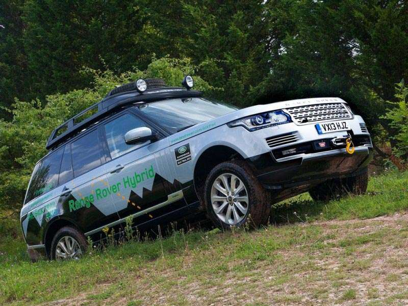 Land Rover Shows Off Two Range Rover Hybrids