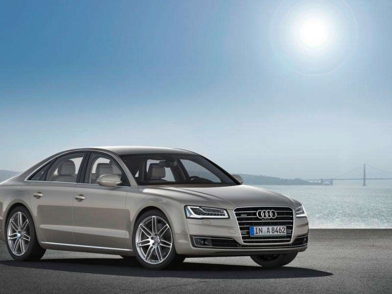 Previewing the Updated 2015 Audi A8