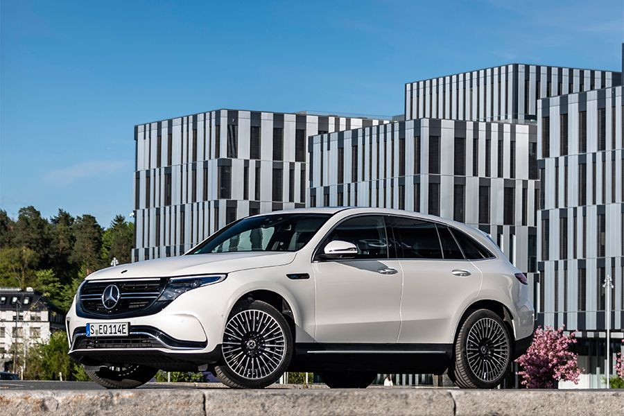 4. 2020 Mercedes-Benz EQC