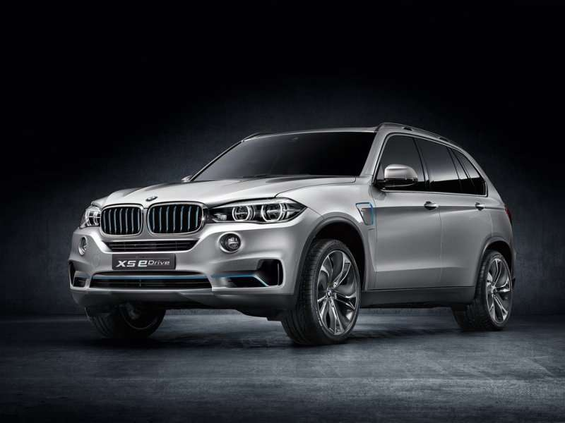 BMW Reveals The X5 eDrive Plug-In Hybrid Concept