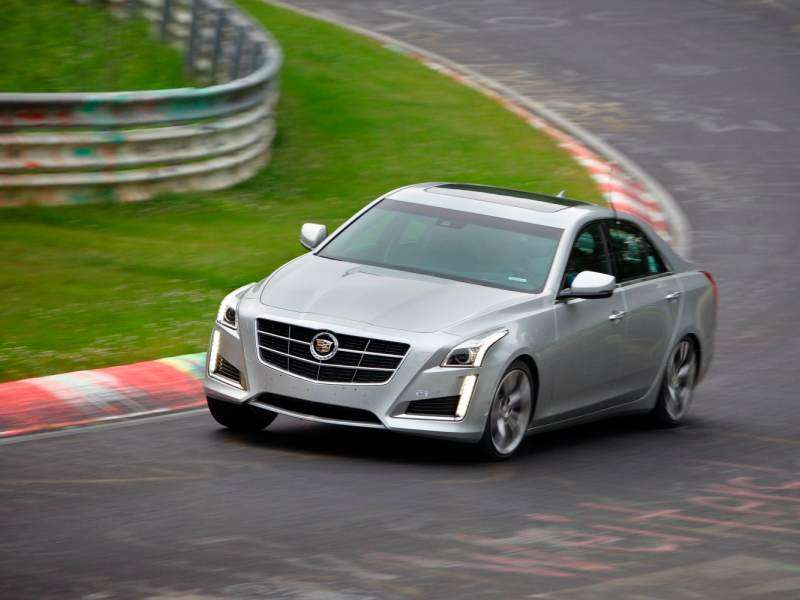 2014 Cadillac CTS Vsport Runs the 'Ring