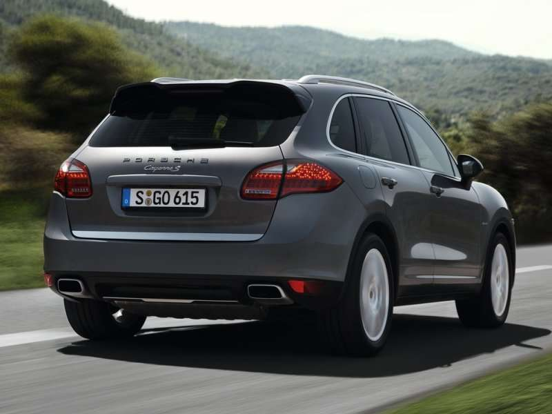 The 2017 Porsche Cayenne Can Be Customized Via A Number Of Options
