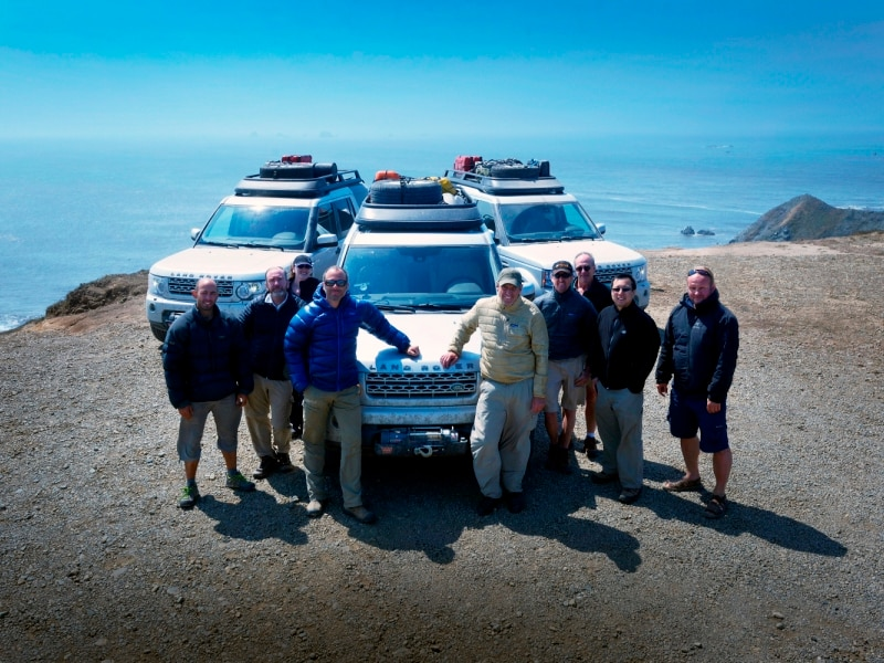 Land Rover Expedition Team Crosses U.S. via Trans-America Trail